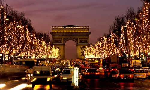 PARIS AT CHRISTMAS